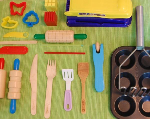 Playdough tools