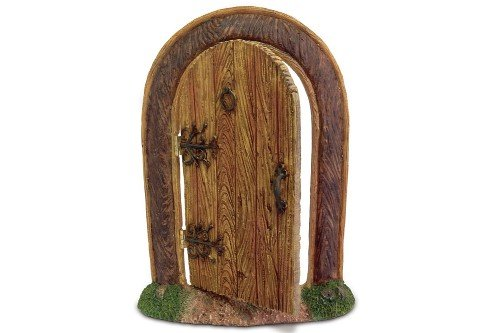 Fairy door that swings open