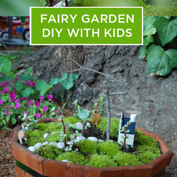 DIY Fairy Garden For Kids.