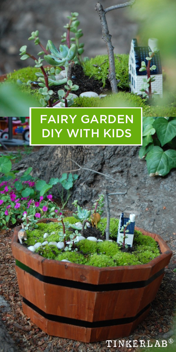 Fairy Garden DIY With Kids
