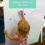Dry Erase Drawing: Sensory Activity
