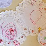 Drawing on Doilies