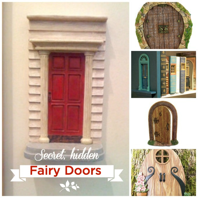 Keep your eyes open and you may spot a secret, hidden fairy door.