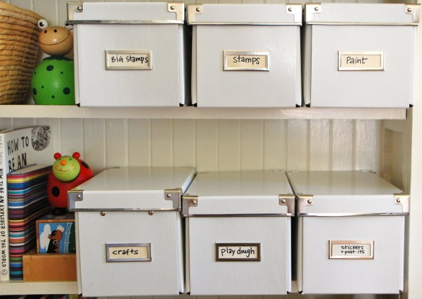 Organize your art materials