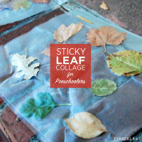 Leaf Collage for Preschool