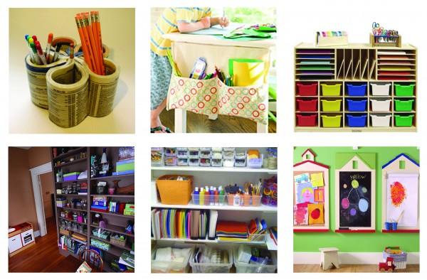 Art Supply Organization Tinkerlab