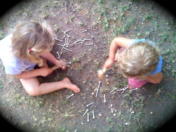 Hammering for Preschoolers
