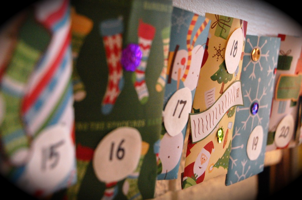 How to make an advent calendar with kids