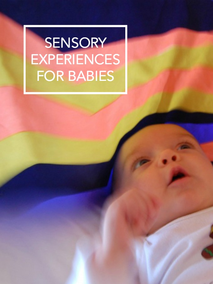 Sensory experiences for Babies