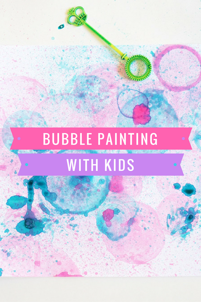 Bubble Painting Art Ideas