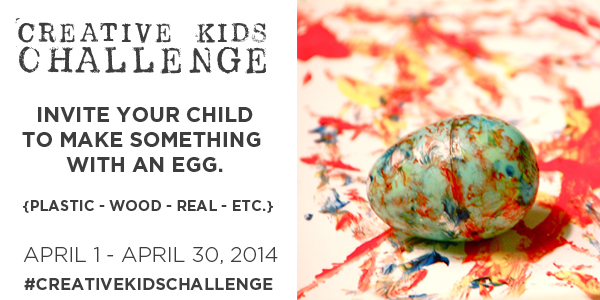 Join over 50 Creative Bloggers in the the TinkerLab Creative Challenge, April 1-30, 2014. Full details in the post.