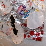 Melted Plastic Bag Collage