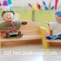 diy felt dolls
