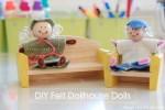 Felt Dollhouse Dolls