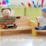 Felt Dollhouse Dolls