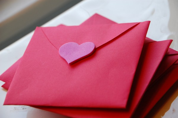 all in one valentine envelope