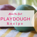 The Best Playdough Recipe