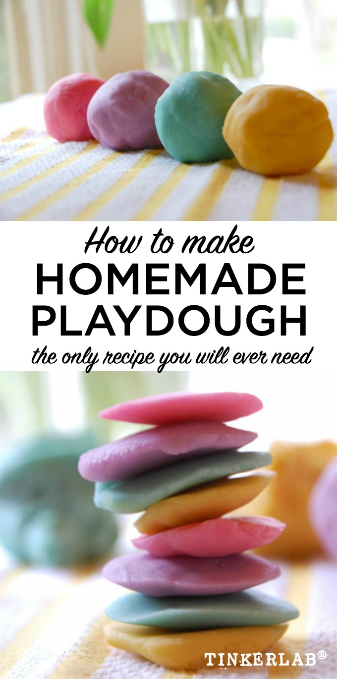 The Best Playdough Recipe | TinkerLab