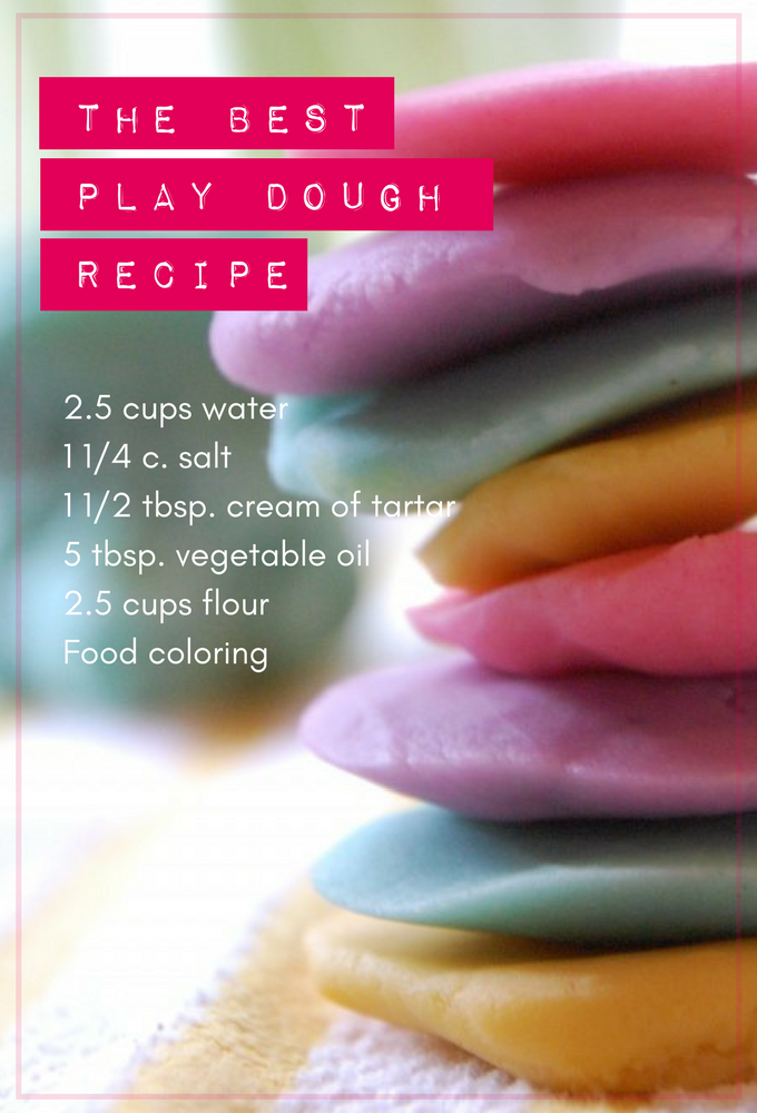 the best play dough recipe