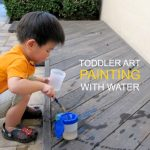 Outdoor Water Painting Experiments