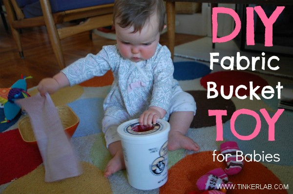 DIY Baby Fabric Bucket