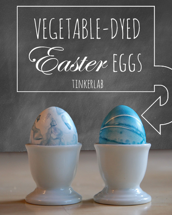 How To Dye Easter Eggs With Natural Dyes Like Red Cabbage, Onion Skins, And