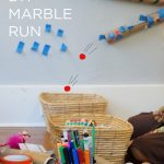 How to Make a Marble Run with Kids