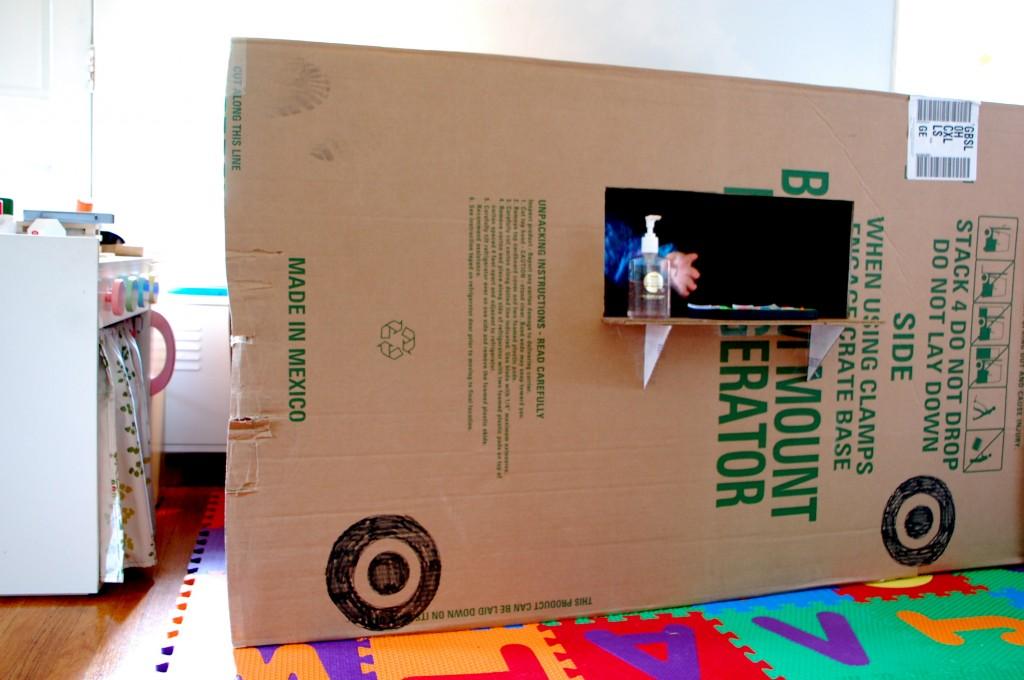 refrigerator box. i refrigerator box