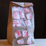 Bubble Print Lunch Bag