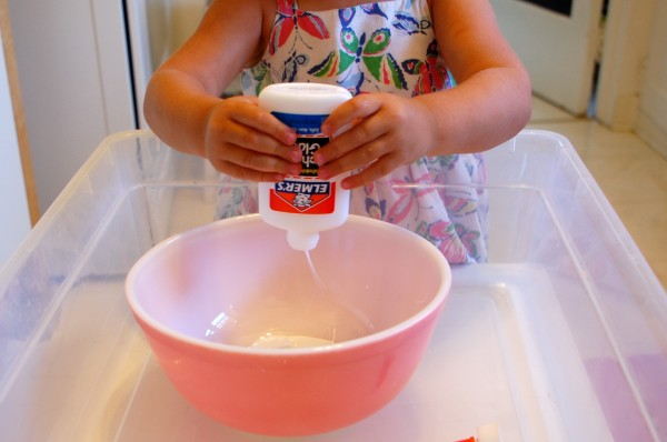 Gak Recipe - How to Make Gak - TinkerLab.com