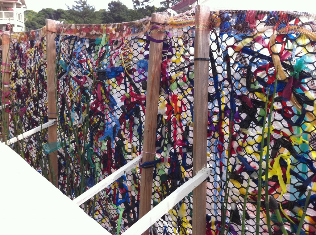 Recycled Weaving Fence Tinkerlab