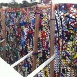 Recycled Weaving Fence