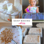 Homemade Soap with Kids