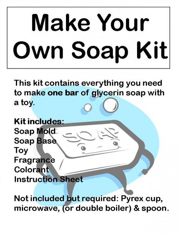 Make Your Own Soap Kit - Click Image to Close