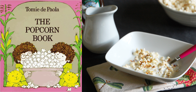 The Popcorn Book and Popcorn Breakfast