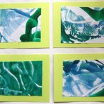 Cookie Sheet Monoprints