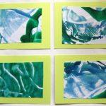 Cookie Sheet Monoprints
