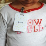 make a name badge