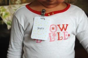 make a name badge