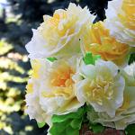 Aunt Peaches Paper Flowers