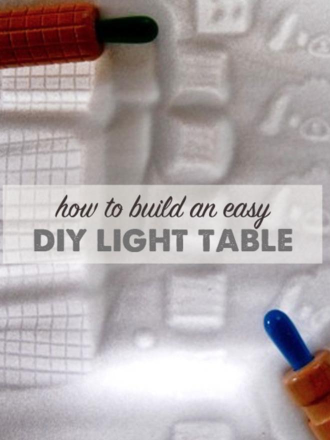 How to Build an Easy DIY Light Table