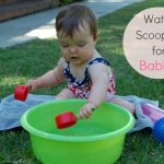 Sensory Play: Water Scooping for Babies