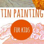Tin Painting for El Dia de Los Muertos