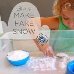 Experiment: Make Fake Snow