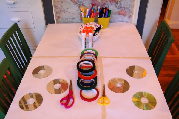 Invitation to Create with CD's and Paint Pens