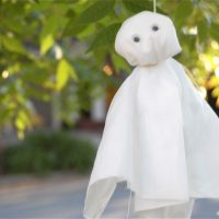 Halloween Tradition: Little Fabric Ghosts