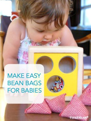 Make easy bean bags for babies