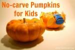Halloween Ideas | No-Carve Pumpkin Decorating