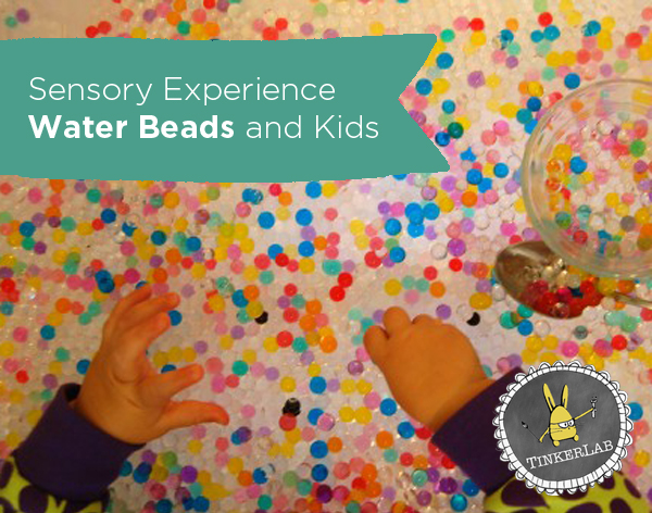 Water bead and Kids | A fun sensory Experience | Tinkerlab.com