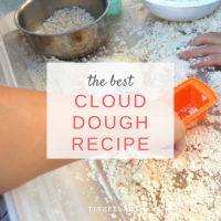 The best cloud dough recipe | Just 2 Ingredients!